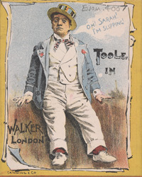 Advert for JL Toole in 'Walker London' 4007